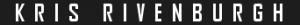 kris rivenburgh text logo