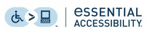 essential accessibility logo